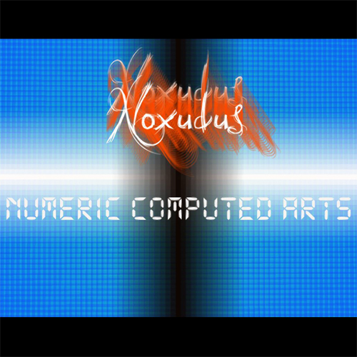 "Albumcover ""Numeric Computed Arts"""