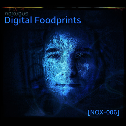 "Albumcover ""Digital Foodprints"""